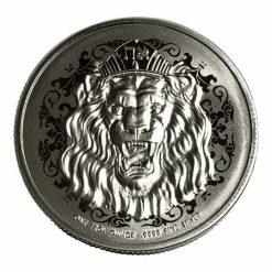 2020 Roaring Lion 1oz .9999 Silver Coin 4