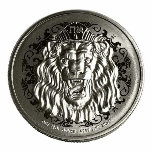 2020 Roaring Lion 1oz .9999 Silver Coin 2