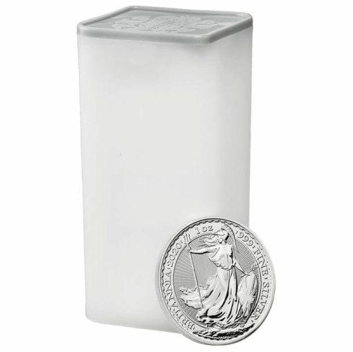 2020 Britannia 1oz .999 Silver Bullion Coin 4