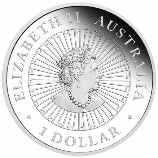 2020 Great Southern Land 1oz .9999 Silver Proof Opal Coin 3