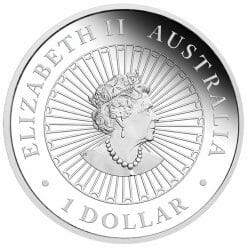 2020 Great Southern Land 1oz .9999 Silver Proof Opal Coin 7