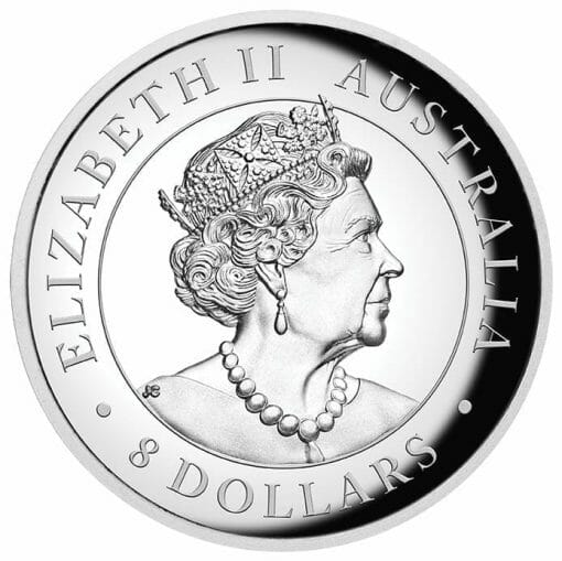 2020 Australian Wedge-Tailed Eagle 5oz .9999 Silver Proof Incused High Relief Coin 3