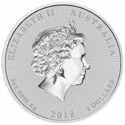 2018 Mother & Baby Koala 2oz .9999 Silver Bullion Piedfort Coin 7