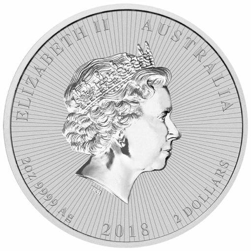 2018 Mother & Baby Koala 2oz .9999 Silver Bullion Piedfort Coin 3