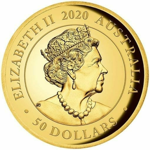2020 Australia Sovereign Gold Proof High Relief Piedfort Coin 3