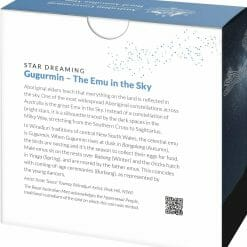 2020 $1 Star Dreaming - Emu in the Sky 1/2oz .999 Silver Coin 9