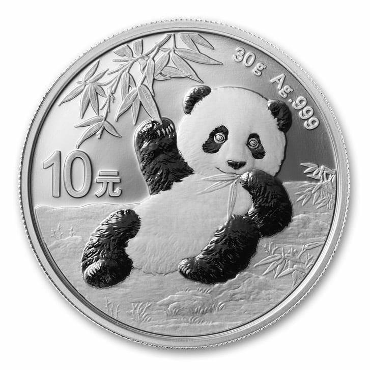 2020 Chinese Silver Panda 30g .999 Silver Bullion Coin 1