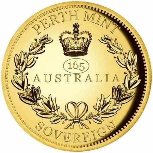 2020 Australia Sovereign Gold Proof High Relief Piedfort Coin 1