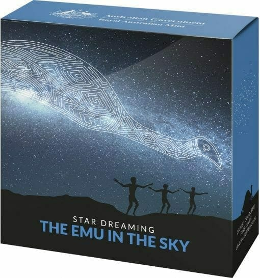 2020 $1 Star Dreaming - Emu in the Sky 1/2oz .999 Silver Coin 4