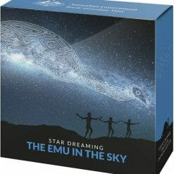 2020 $1 Star Dreaming - Emu in the Sky 1/2oz .999 Silver Coin 8