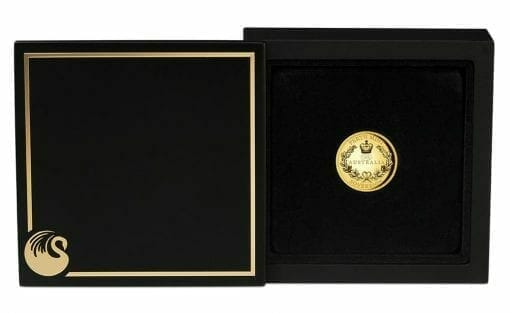 2020 Australia Sovereign Gold Proof High Relief Piedfort Coin 4