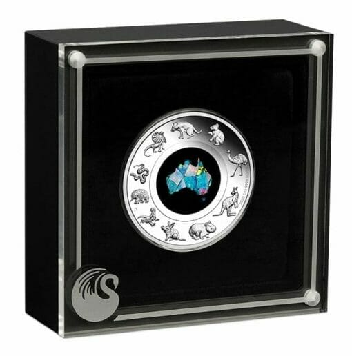 2020 Great Southern Land 1oz .9999 Silver Proof Opal Coin 4