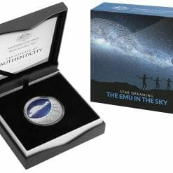 2020 $1 Star Dreaming - Emu in the Sky 1/2oz .999 Silver Coin 7
