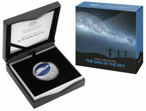 2020 $1 Star Dreaming - Emu in the Sky 1/2oz .999 Silver Coin 3