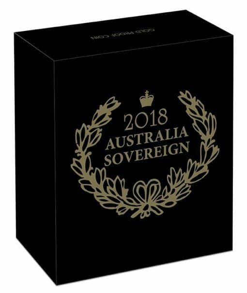 2018 Australia Sovereign Gold Proof Coin 5