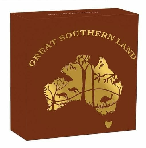 2020 Great Southern Land 1oz .9999 Silver Proof Opal Coin 5