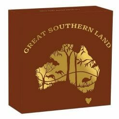 2020 Great Southern Land 1oz .9999 Silver Proof Opal Coin 9
