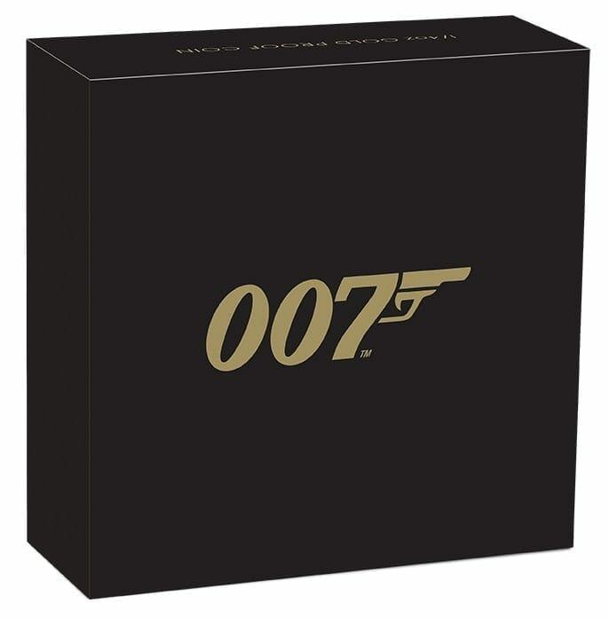 2020 007 James Bond 1/4oz .9999 Gold Proof Coin 5
