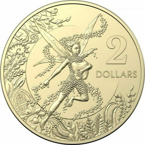 2020 $2 Tooth Fairy Uncirculated Coin in Card - AlBr 2