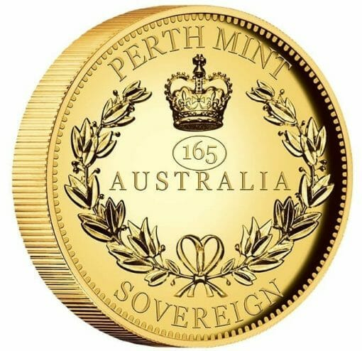 2020 Australia Sovereign Gold Proof High Relief Piedfort Coin 2