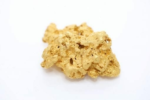 Natural Western Australian Gold Nugget - 135.67g / 4.36oz t 5