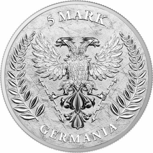 2020 Germania 1oz .9999 Silver Bullion Coin 2