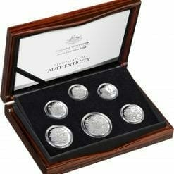 2020 6th Portrait - A New Effigy Era .999 Silver Proof Six Coin Year Set 14