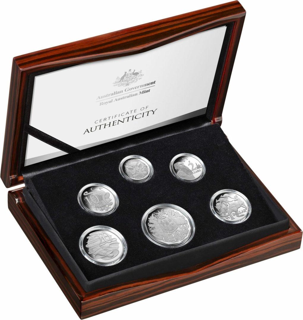 2020 6th Portrait - A New Effigy Era .999 Silver Proof Six Coin Year Set 3