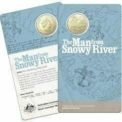 2020 50c Banjo Paterson - Treasured Australian Poetry Uncirculated Three Coin Set - AlBr 15