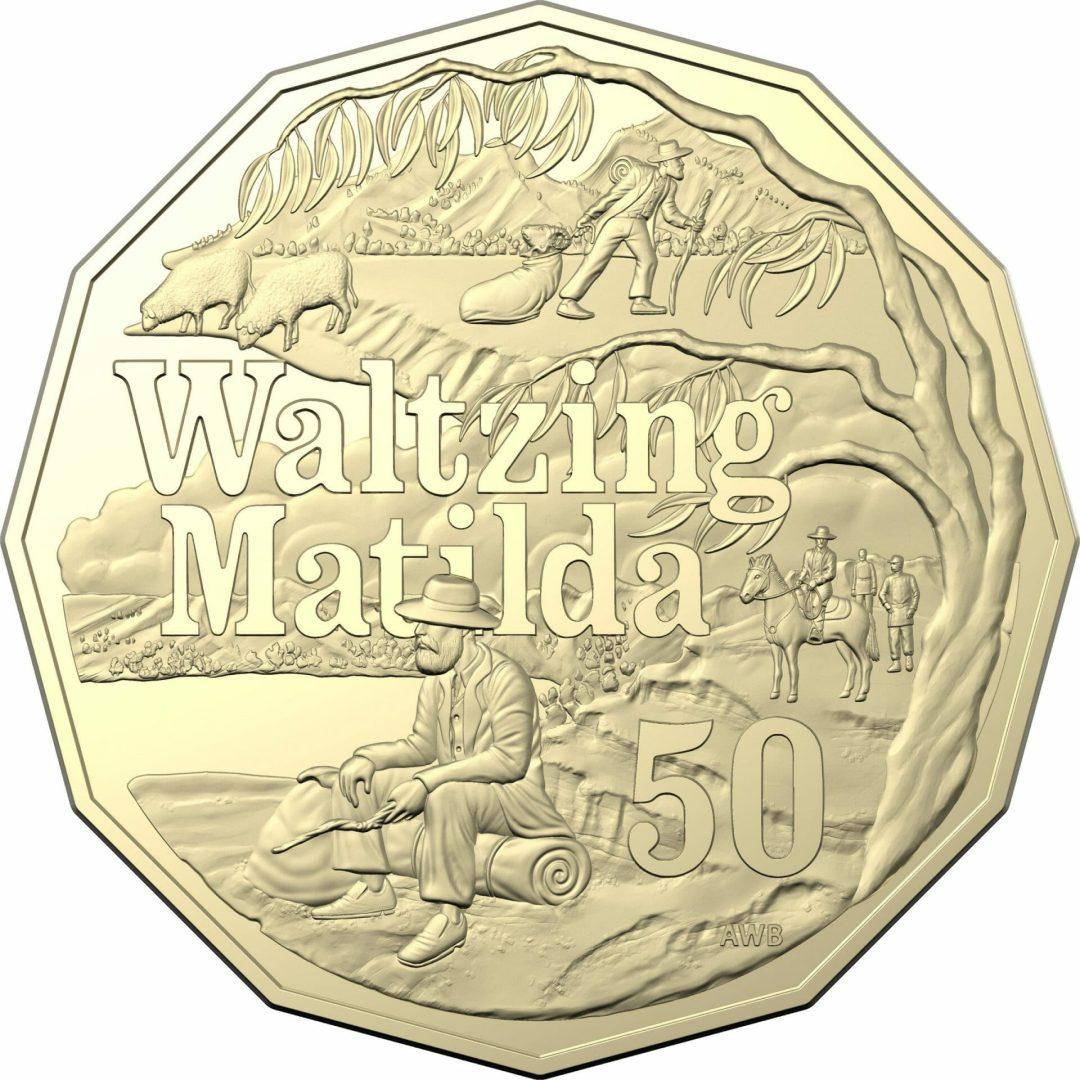2020 50c Banjo Paterson - Treasured Australian Poetry Uncirculated Three Coin Set - AlBr 14