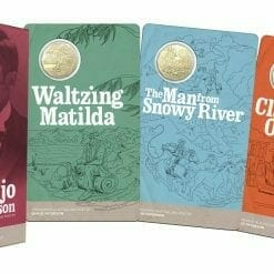 2020 50c Banjo Paterson - Treasured Australian Poetry Uncirculated Three Coin Set - AlBr 12