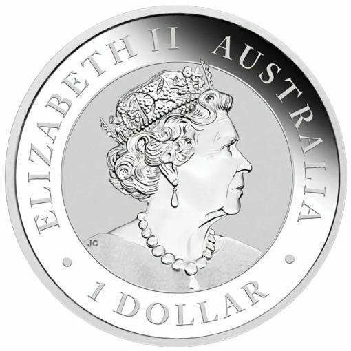 2020 Australian Emu 1oz .9999 Silver Bullion Coin 2