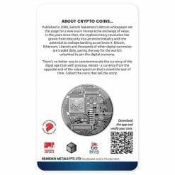 2020 Chad Crypto Series - Ethereum 1oz .999 Silver Proof Coin 3