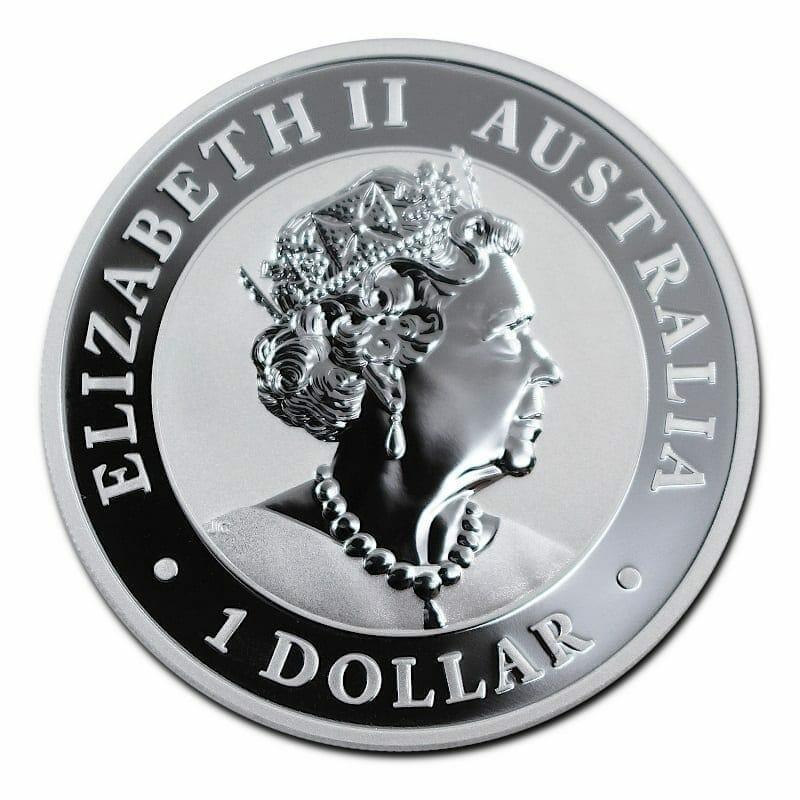 2020 Australian Brumby 1oz .9999 Silver Bullion Coin 2