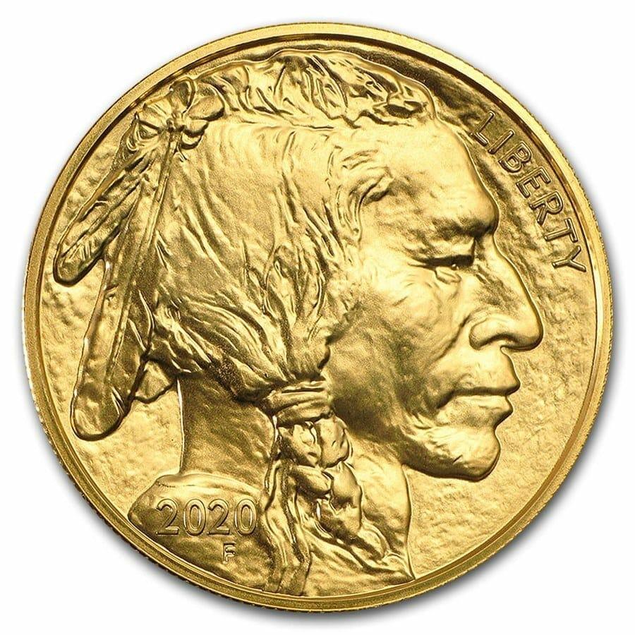 2020 American Buffalo 1oz .9999 Gold Bullion Coin 3