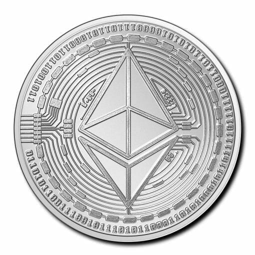 2020 Chad Crypto Series - Ethereum 1oz .999 Silver Bullion Coin 1