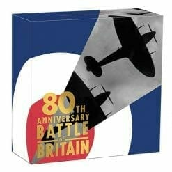 2020 80th Anniversary of The Battle of Britain 1/4oz .9999 Gold Proof Coin 9