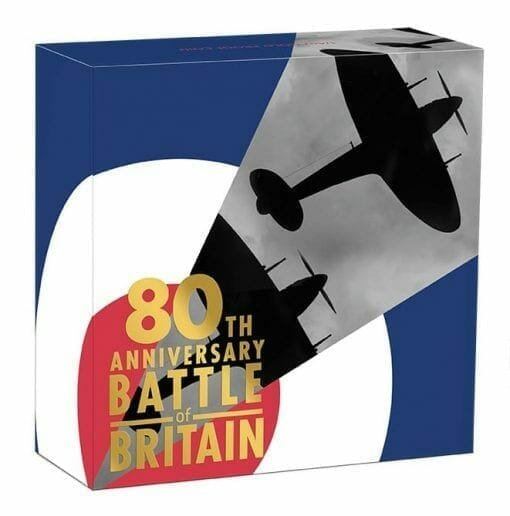 2020 80th Anniversary of The Battle of Britain 1/4oz .9999 Gold Proof Coin 5