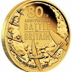 2020 80th Anniversary of The Battle of Britain 1/4oz .9999 Gold Proof Coin 6