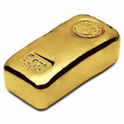 Perth Mint 5oz .9999 Gold Cast Bullion Bar 3