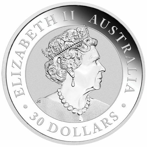 2019 Australian Kookaburra 1kg .9999 Silver Bullion Coin 3
