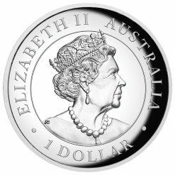 2020 Australian Koala 1oz .9999 Silver Incused High Relief Coin 8