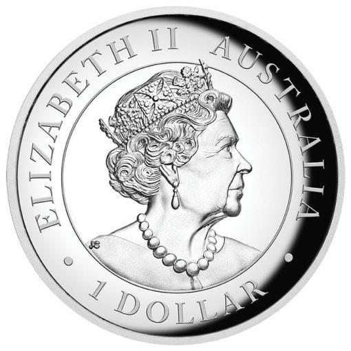 2020 Australian Koala 1oz .9999 Silver Incused High Relief Coin 4
