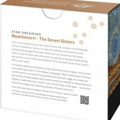 2020 $1 Star Dreaming - Pleiades - The Seven Sisters 1/2oz .999 Coloured Silver Coin 11
