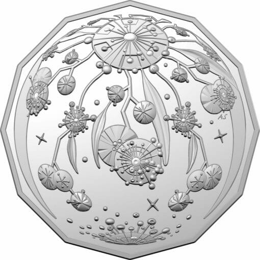2020 50c Christmas Coin Decoration in Pop-Out Card - Pack of 5 - CuNi 2
