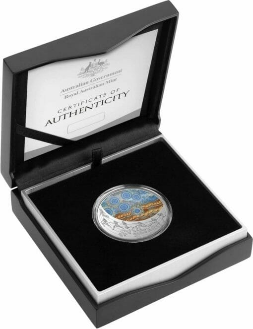 2020 $1 Star Dreaming - Pleiades - The Seven Sisters 1/2oz .999 Coloured Silver Coin 3