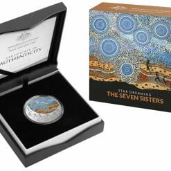 2020 $1 Star Dreaming - Pleiades - The Seven Sisters 1/2oz .999 Coloured Silver Coin 9