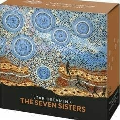 2020 $1 Star Dreaming - Pleiades - The Seven Sisters 1/2oz .999 Coloured Silver Coin 10