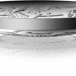2021 $5 Lunar Year of the Ox 1oz .999 Silver Proof Domed Coin 8