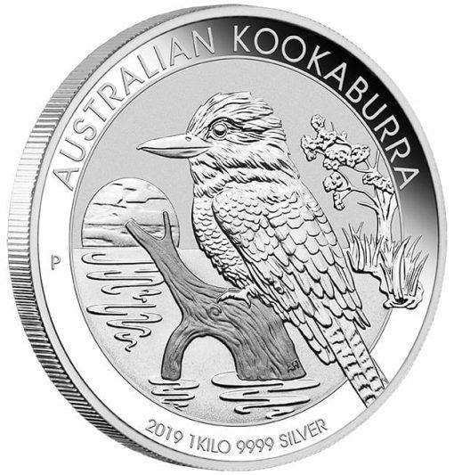 2019 Australian Kookaburra 1kg .9999 Silver Bullion Coin 2